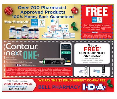 Bell Pharmacy Ottawa Discounts & Promotions